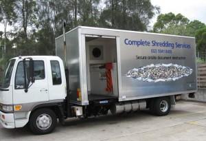 Mobile Shredding Business